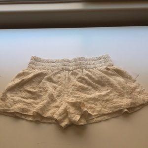 Ella Moss lace shorts NWT